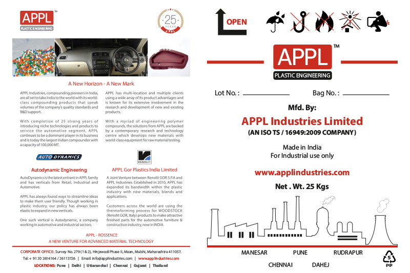 Two Signs: Portfolio | APPL Industries